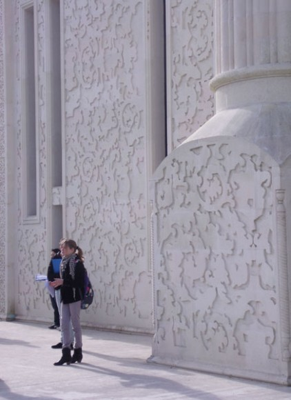 échelle minaret-élève