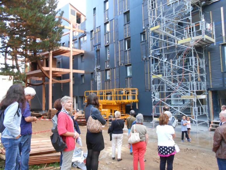 ardepa, visite genèse, Grand Carcouët, construction logement à énergie positive