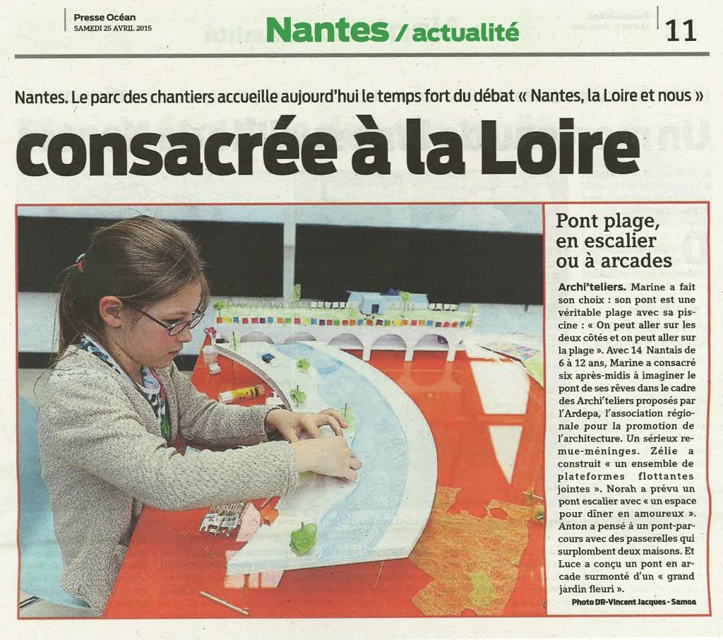 Presse Océan - 25 avril 2015
