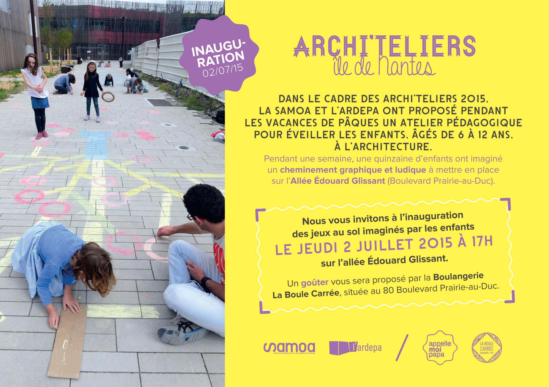ardepa, archi'teliers 2015, invitation inauguration