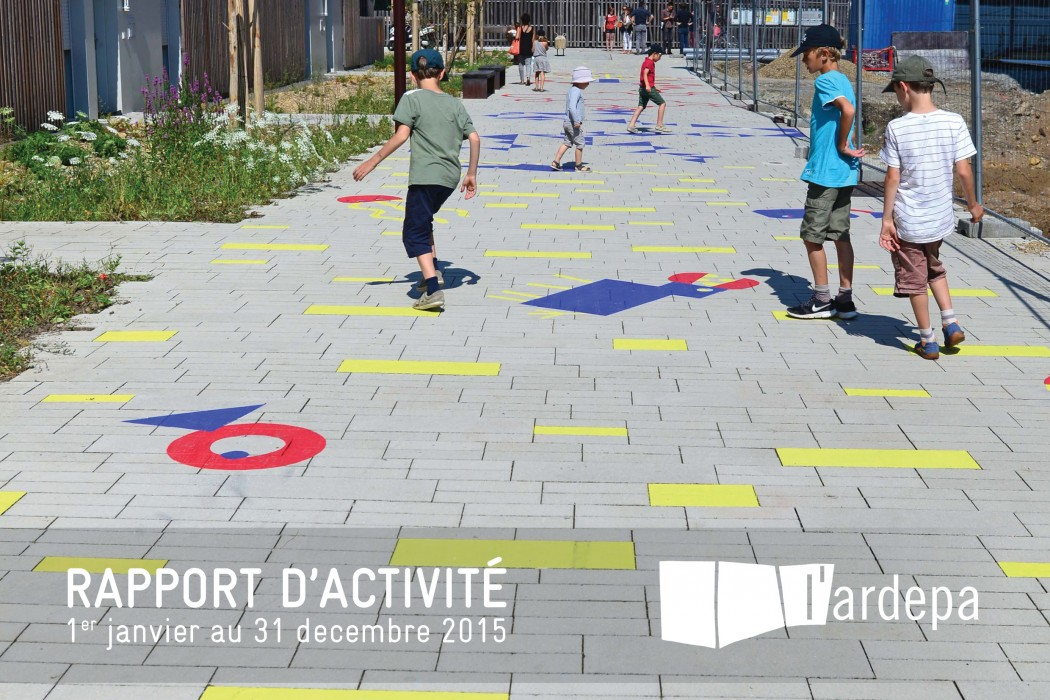 ardepa, Rapport activite 2015