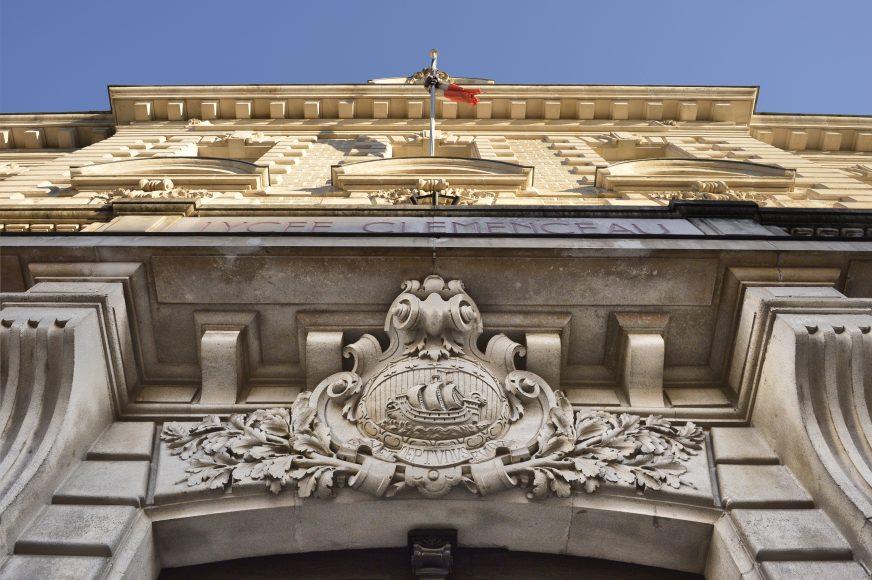 Le lycée Clemenceau