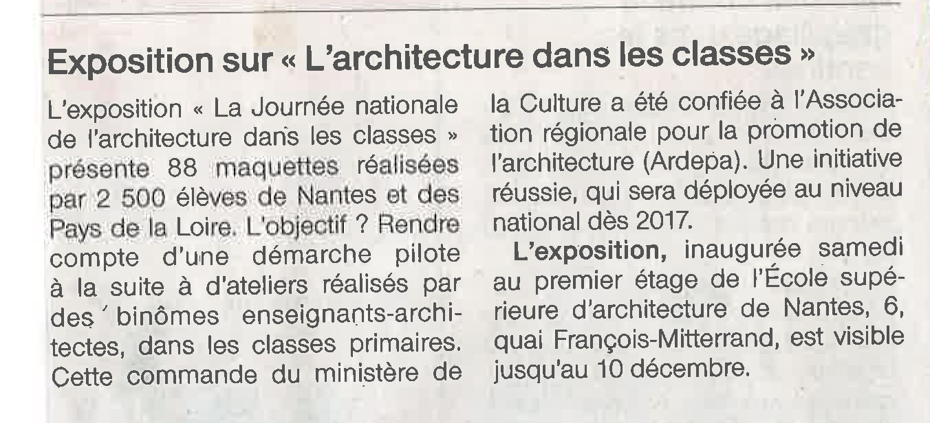 ouestfrance ardepa jnac architecture 21/12/2016