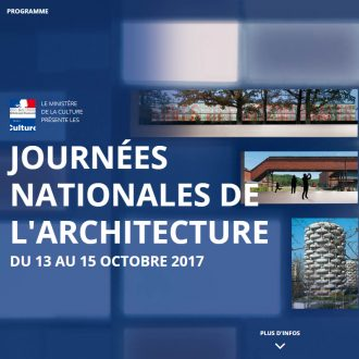 journées nationales de l'architecture 2017