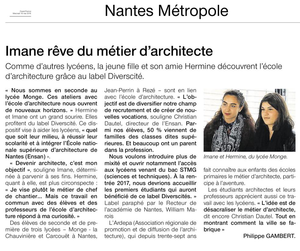 ardepa divers(c)ités ouest france 08/05/2016