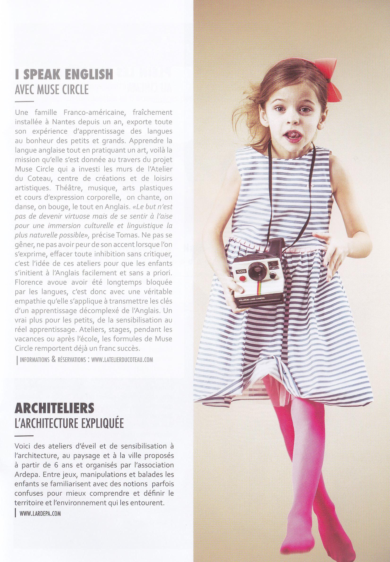 architeclier magazine idîle 2014