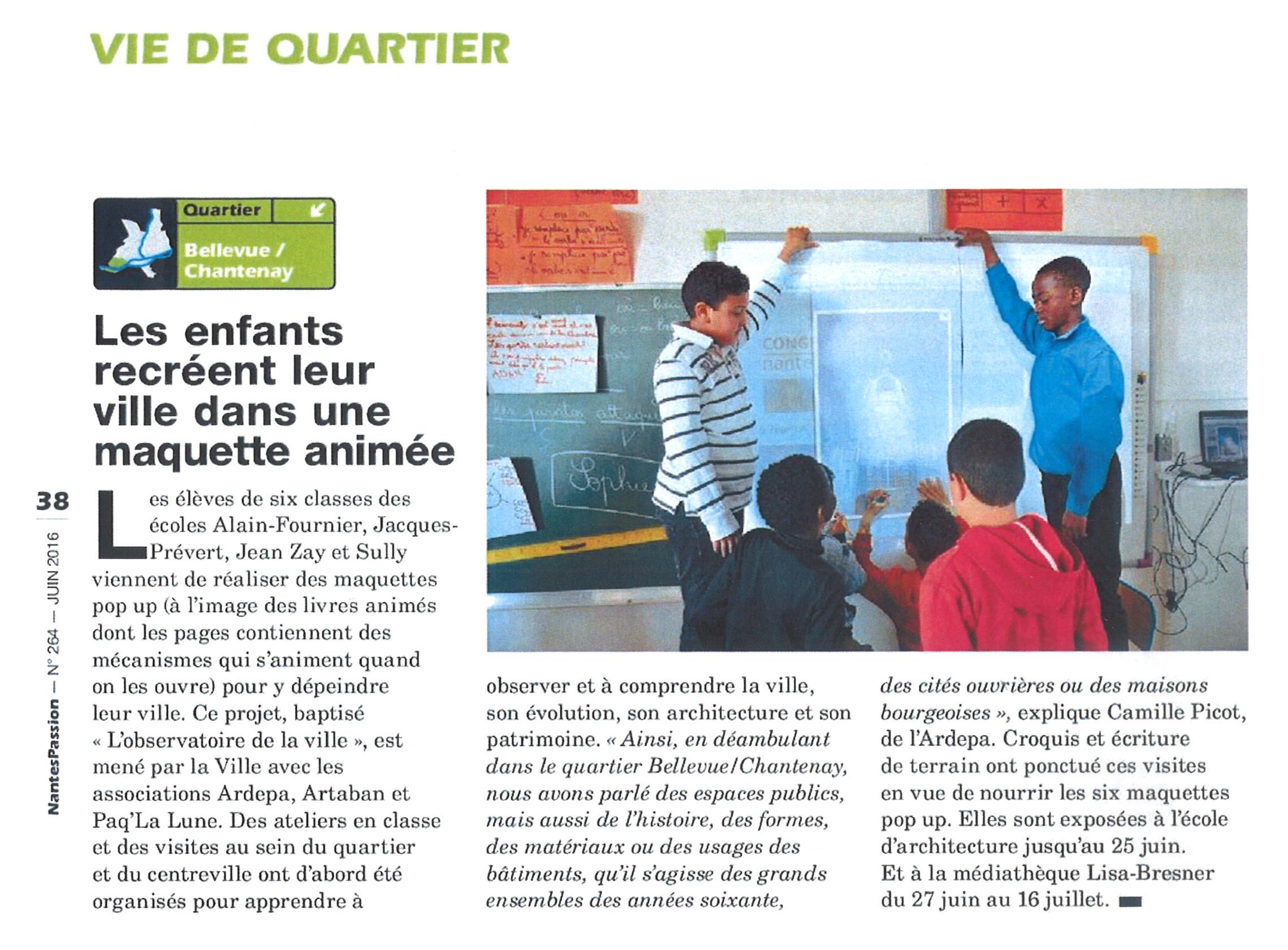 Magazine municipal nantes observatoire de la ville
