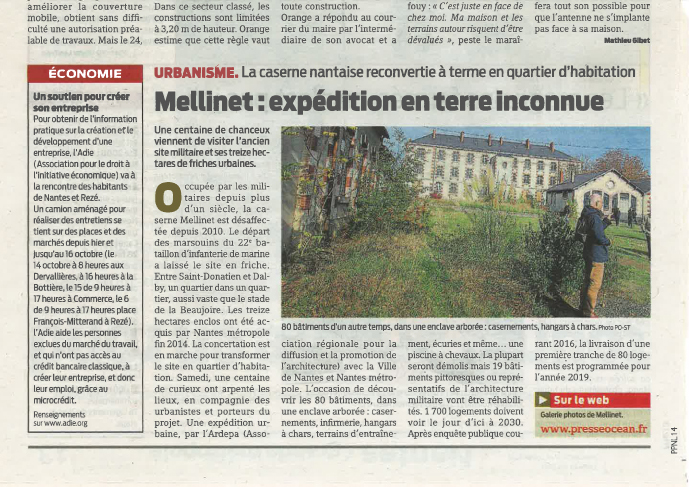 expédition urbaine caserne mellinet - presse O - 14/10/2015