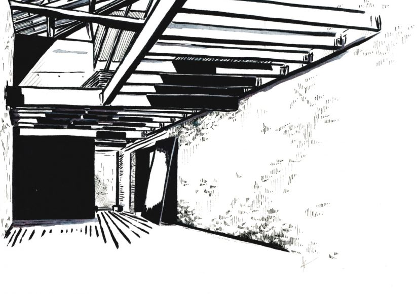 architecture ardepa dessin Solène Gautron - jna 2017