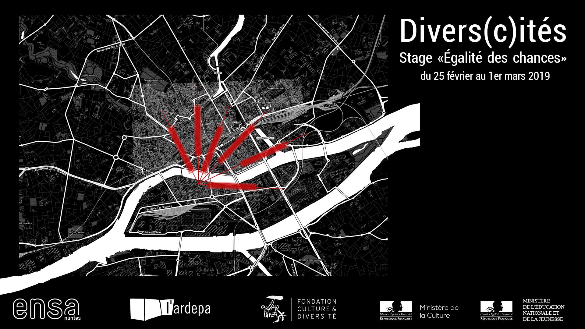stage égalité des chances en ensa, nantes architecture fondation culture et diversité