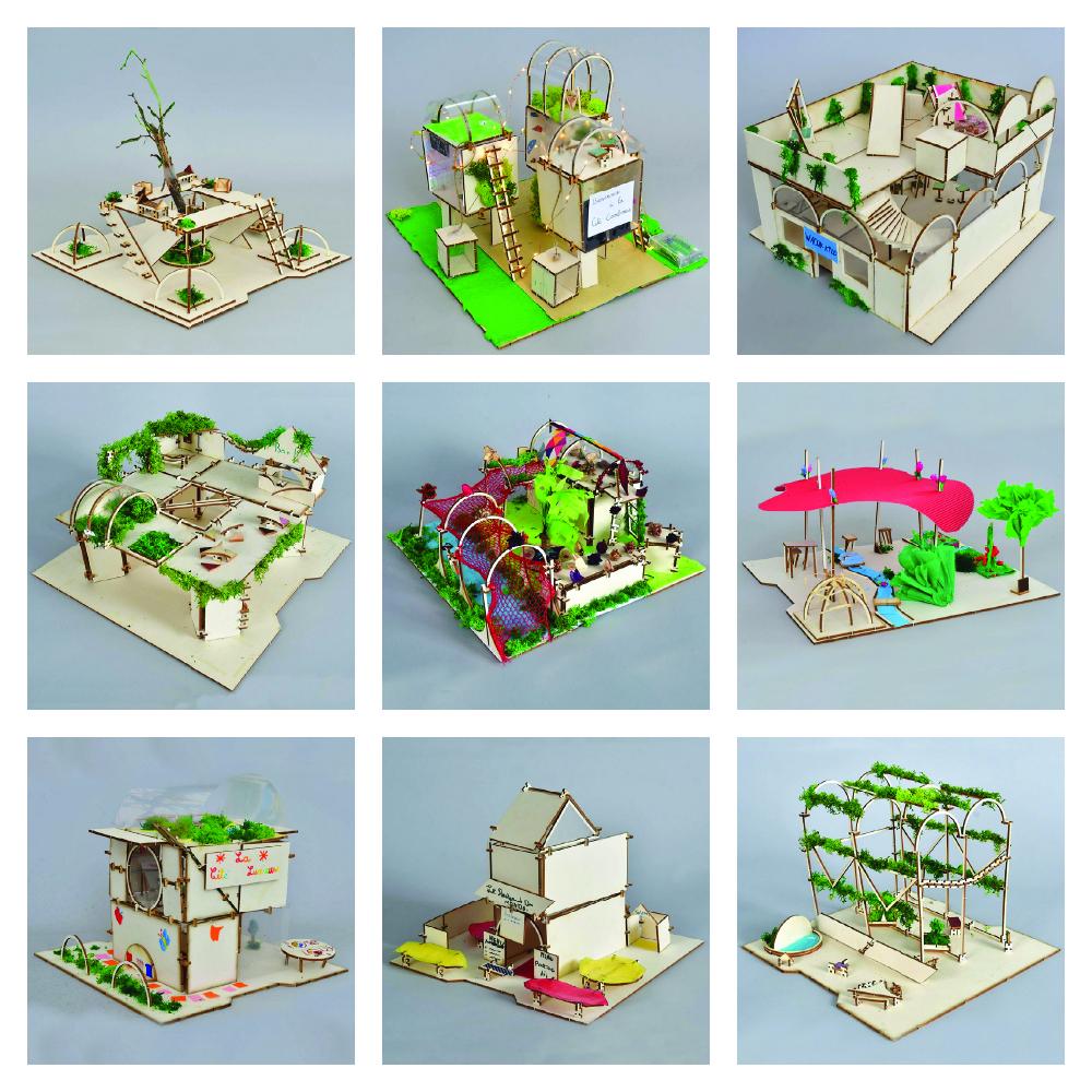 ardepa kit and clip exemples outil pedagogique maquette journee nationale de l'architecture dans les classes jnac