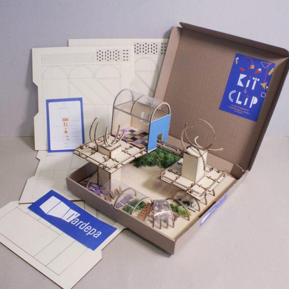 ardepa kit and clip exemple 1outil pedagogique maquette journee nationale de l'architecture dans les classes jnac