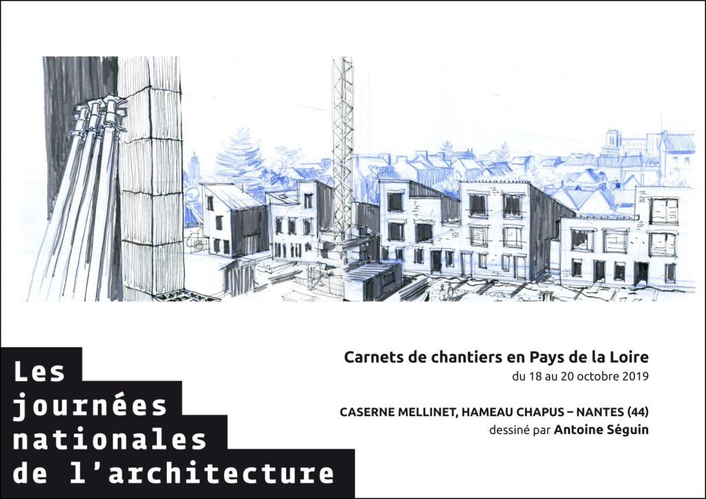 carnets de chantier 2019 plan 5 visite de chantier journées nationales de l'architecture