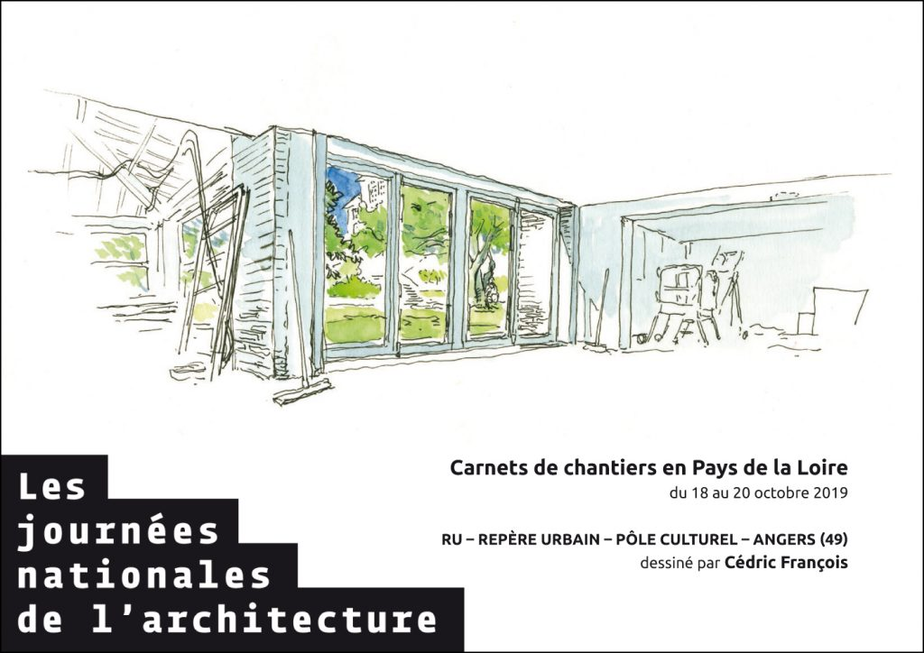 carnets de chantier 2019 plan 5 visite de chantier journées nationales de l'architecture 49