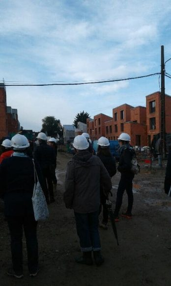 visite chantier 2019 caserne mellinet 7