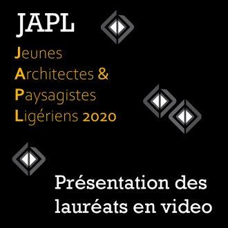 ardepa JAPL jeunes architectes et paysagiste ligériens 2020 présentation