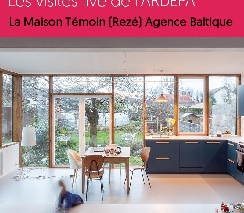 ardepa architecture nantes visites maison individuelle la maison témoin agence baltique rezé