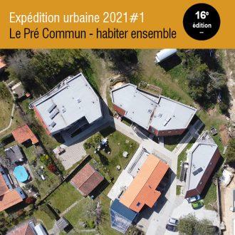 ardepa expédition urbaine 2021#1 le pré commun habitat participatif visite architecturale nantes