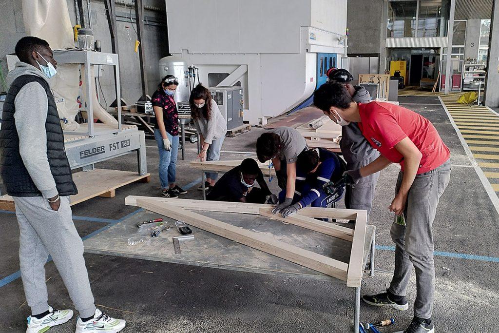 ardepa collectif à côté centre accoord malakoff 16-25 chantier jeune à l'aécole d'architecture 6