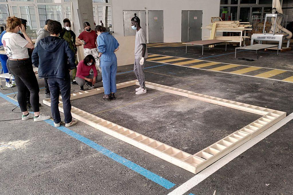 ardepa collectif à côté centre accoord malakoff 16-25 chantier jeune à l'aécole d'architecture 7