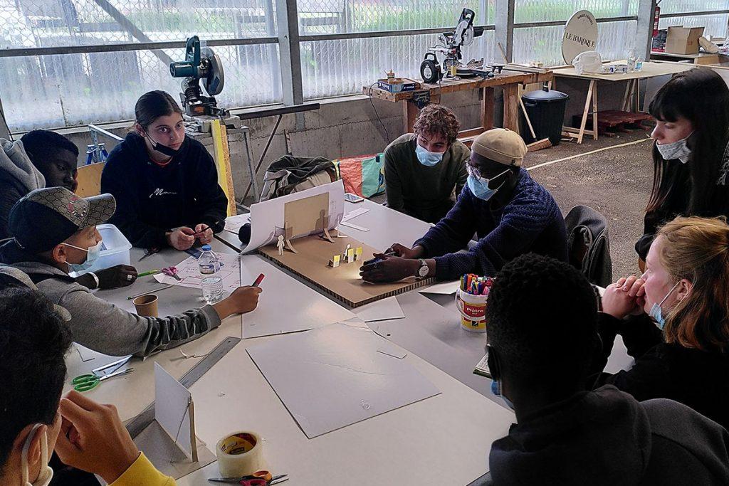 ardepa collectif à côté centre accoord malakoff 16-25 chantier jeune à l'aécole d'architecture 8