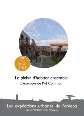 ardepa visite architecturale expédition urbaine 2021 le pré commun habitat participatif