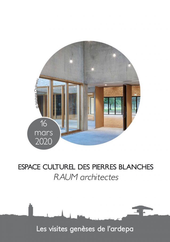 association ardepa visites architecturales espace culturel des pierres blanches saint jean de boiseau atelier RAUM